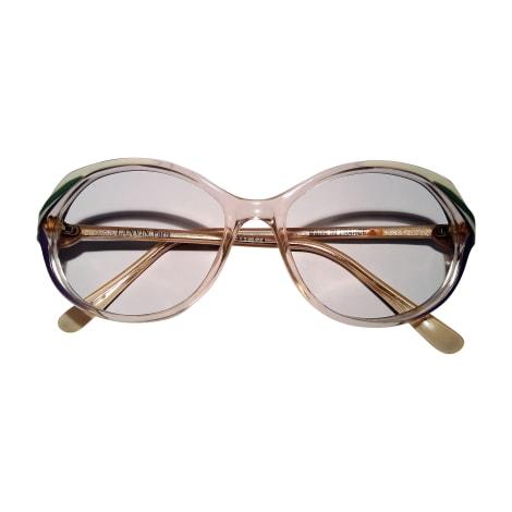 Monture de lunettes LANVIN Transparent, violet, vert et blanche