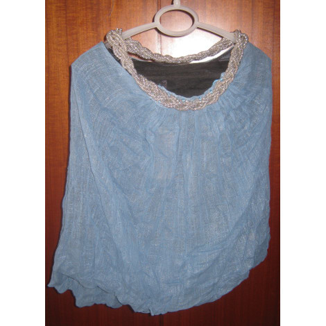 Dos-nu MARQUE INCONNUE Bleu, bleu marine, bleu turquoise