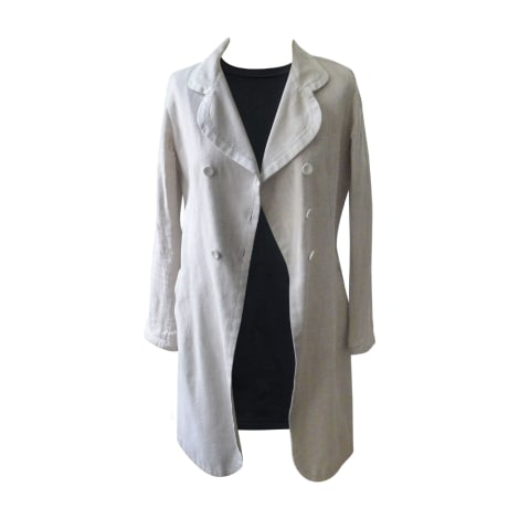 Manteau BARBARA BUI Blanc, blanc cassé, écru