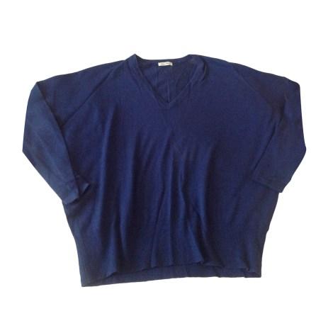 Pull AMERICAN VINTAGE Bleu, bleu marine, bleu turquoise