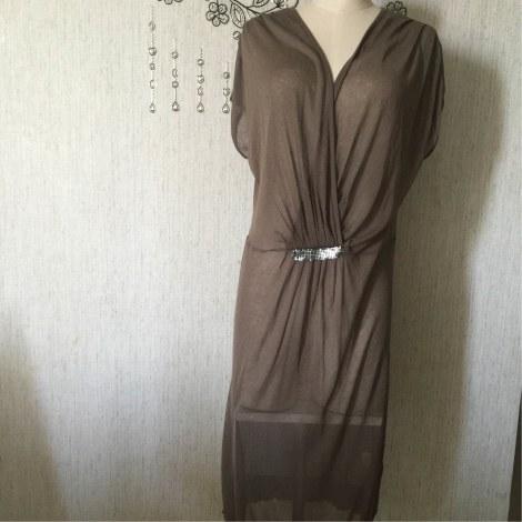 Robe mi-longue LA MAISON DU JERSEY Kaki
