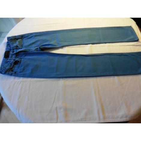 Jeans droit FINGER IN THE NOSE Bleu, bleu marine, bleu turquoise