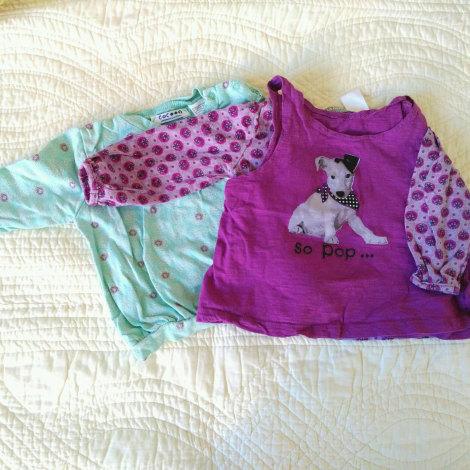 Top, tee shirt LA REDOUTE Violet, mauve, lavande