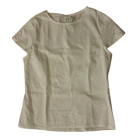 Top, tee-shirt PAUL & JOE Blanc, blanc cassé, écru