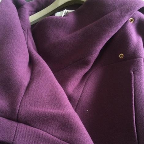 Manteau CHLOÉ Violet, mauve, lavande