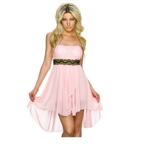 Robe bustier MADE IN ITALIE Rose, fuschia, vieux rose