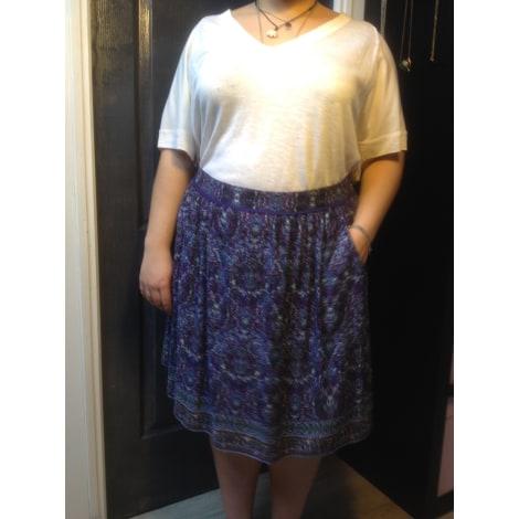 Jupe mi-longue MARKS & SPENCER Violet, mauve, lavande
