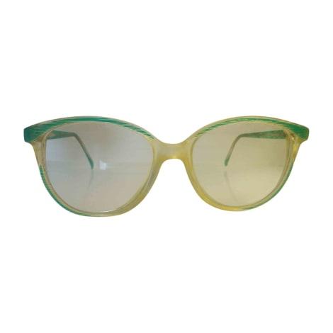 Monture de lunettes LANVIN Vert et Transparent