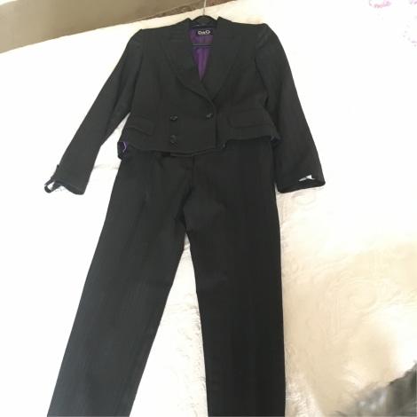 Tailleur pantalon DOLCE & GABBANA Noir