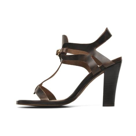 Sandales à talons JONAK Marron