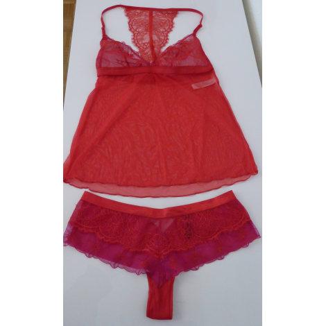 Ensemble, parure lingerie PASSIONATA Rouge, bordeaux