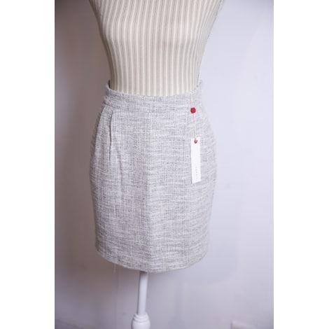 Jupe courte ESPRIT Blanc, blanc cassé, écru