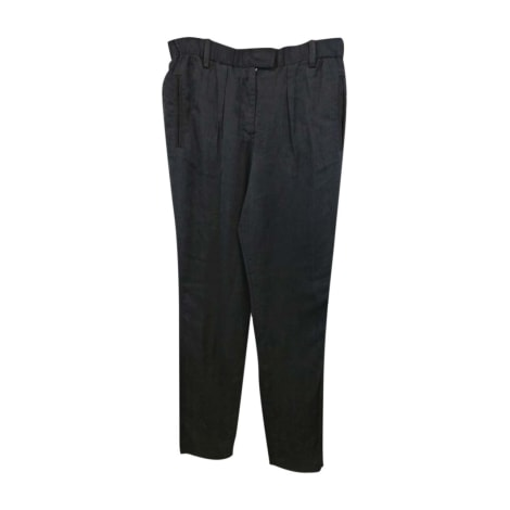 Pantalon droit ISABEL MARANT ETOILE Noir