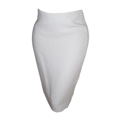 Jupe courte RALPH LAUREN Blanc, blanc cassé, écru