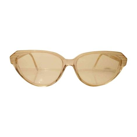 Monture de lunettes YVES SAINT LAURENT Blanc, blanc cassé, écru