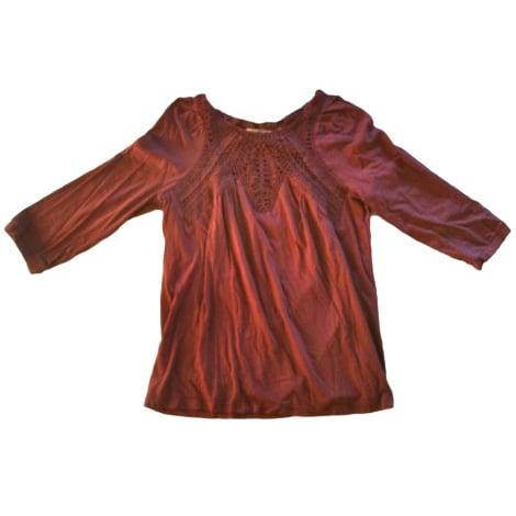 Top, tee-shirt ATHÉ VANESSA BRUNO Rose, fuschia, vieux rose