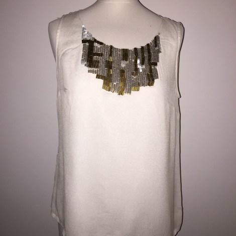 Top, tee-shirt ONE STEP Blanc, blanc cassé, écru