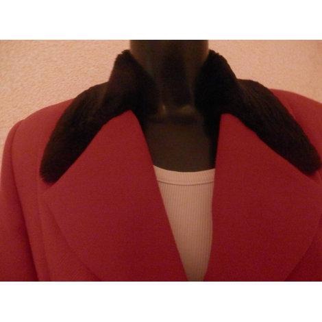 Blazer, veste tailleur TALONS AIGUILLES Rouge, bordeaux
