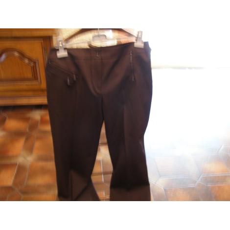 Pantalon droit ALAIN MANOUKIAN Marron