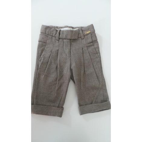 Pantalon CHLOÉ Gris, anthracite