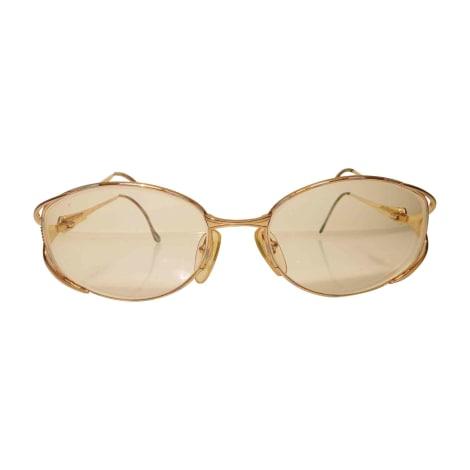 Monture de lunettes LANVIN Doré et violet
