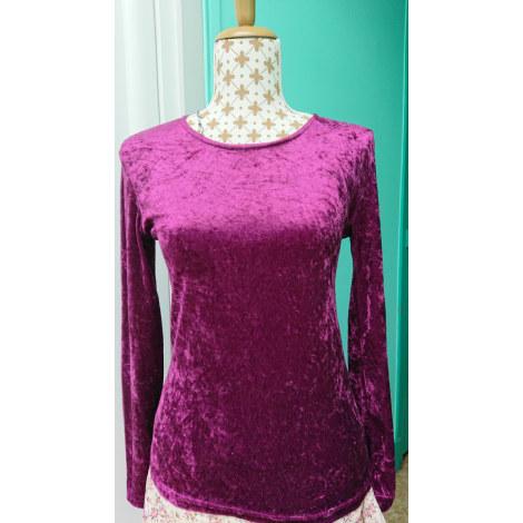 Top, tee-shirt FIONELLA Rose, fuschia, vieux rose