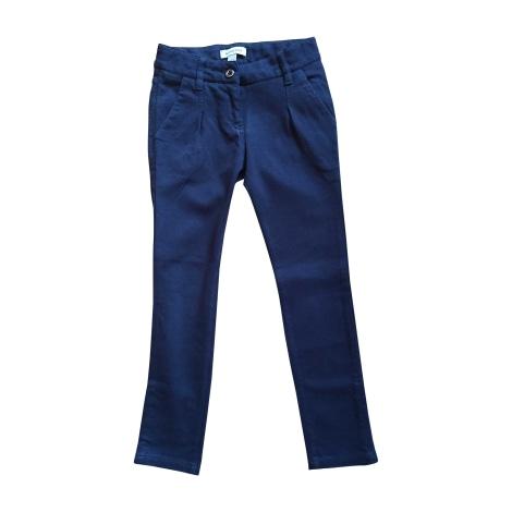 Pantalon BURBERRY Bleu, bleu marine, bleu turquoise