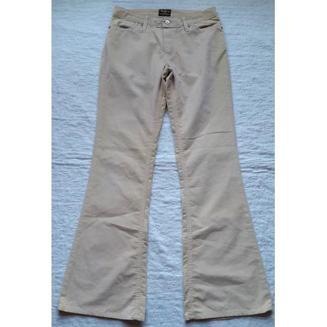 Pantalon évasé PEPE JEANS Blanc, blanc cassé, écru