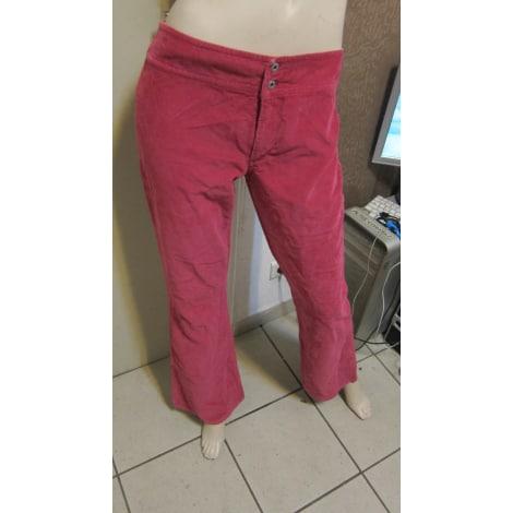 Jeans très evasé, patte d'éléphant REPLAY Rose, fuschia, vieux rose