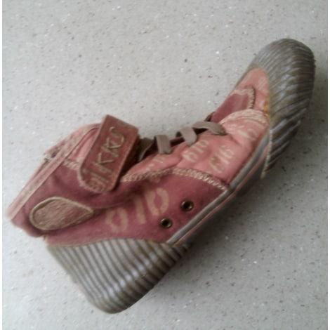 Baskets IKKS Rose, fuschia, vieux rose