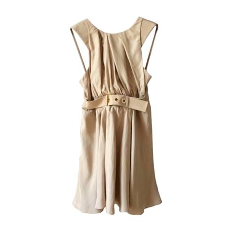 Robe mi-longue KENZO Beige, camel