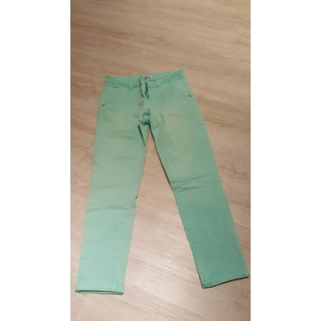 Pantalon slim, cigarette CACHE CACHE Vert