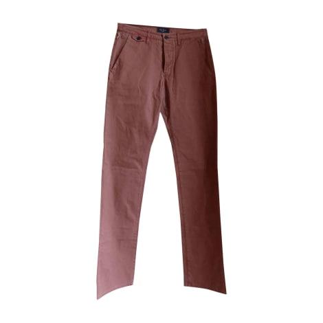 Pantalon slim PAUL SMITH brique