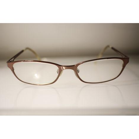 Monture de lunettes VOGUE marron metalique