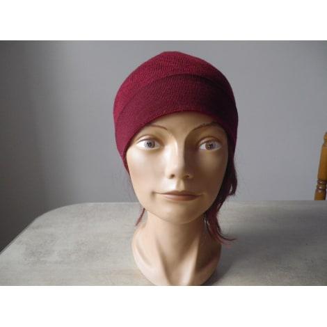 Bonnet GUESS Rouge, bordeaux