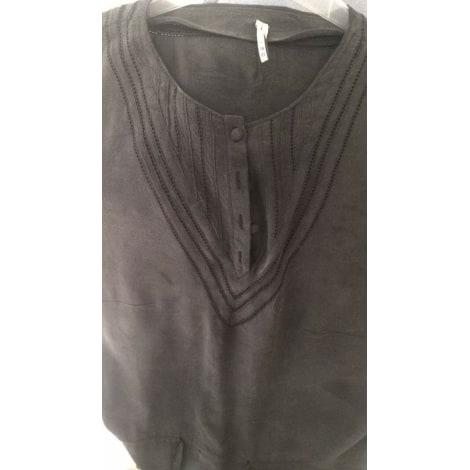 Robe courte IRO Gris, anthracite