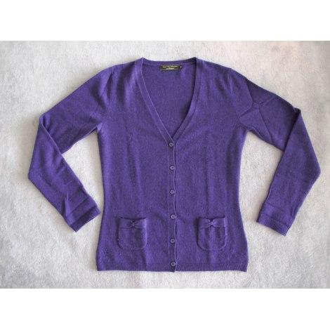 Gilet, cardigan GALERIES LAFAYETTE Violet, mauve, lavande