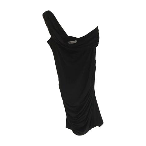 Robe courte PIERRE BALMAIN Noir