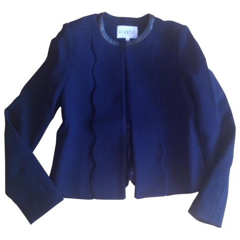 Veste CLAUDIE PIERLOT Bleu, bleu marine, bleu turquoise