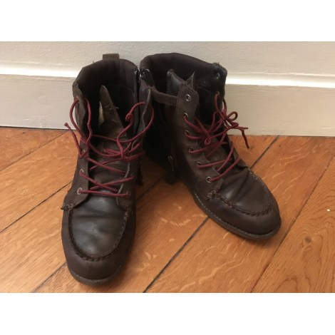 Ankle Boots TIMBERLAND Brown