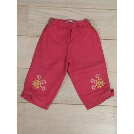Pantalon CLAYEUX Rose, fuschia, vieux rose
