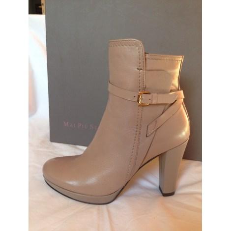 Bottines & low boots à talons MAI PIU SENZA Beige, camel