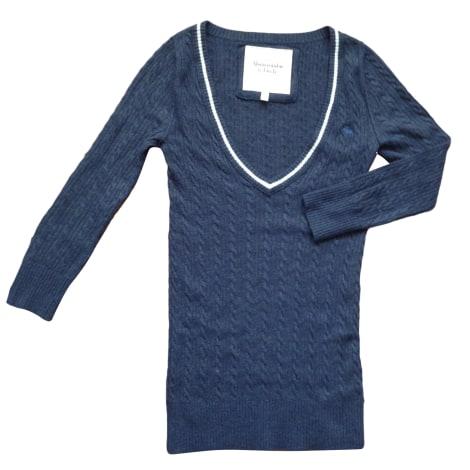 Pull ABERCROMBIE & FITCH Bleu, bleu marine, bleu turquoise