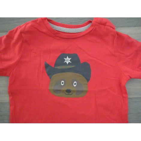 Top, tee shirt BOUT'CHOU Rouge, bordeaux