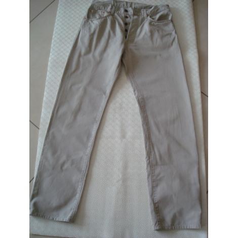 Pantalon droit LEVI'S Beige, camel