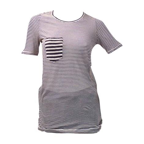 Top, tee-shirt ISABEL MARANT ETOILE Reyure: bleu&blanc