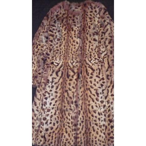 Manteau en fourrure ARTISAN FOURREUR Imprimés animaliers