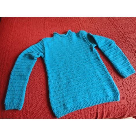 Pull PHILDAR Bleu, bleu marine, bleu turquoise