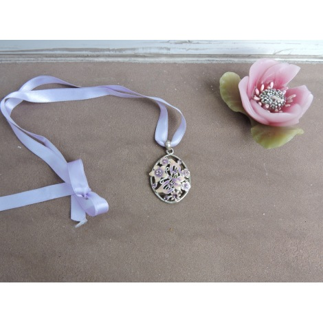 Pendentif, collier pendentif NO COLLECTION Violet, mauve, lavande