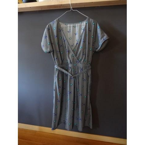Robe courte MARQUE INCONNUE Gris, anthracite
